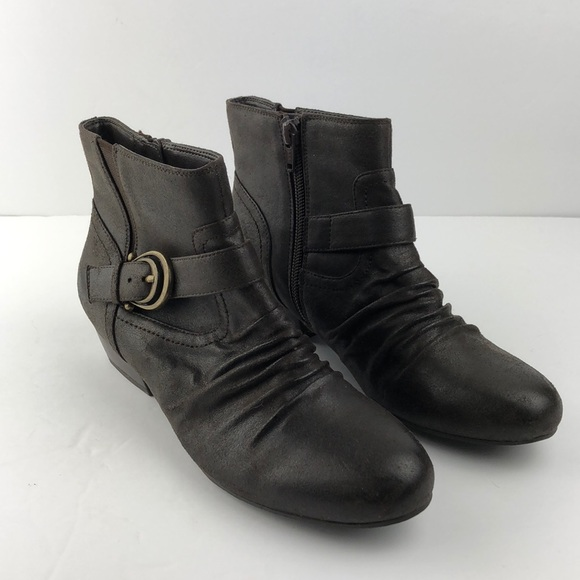 Kim Rogers Shoes - Kim Rogers Brown Ankle Boot size 6